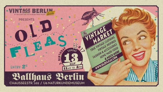 Berlin Vintage Flohmarkt Old Fleas